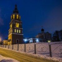 Храм Живоначальной Троицы в Ознобишине :: Ирина Шарапова