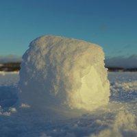 комочек снега :: Ольга Cоломатина