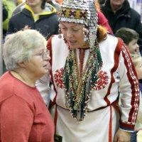 подружки с Севера-встретились в Москве и поговорили :: Олег Лукьянов