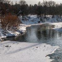 Зимняя река :: Olga Mach