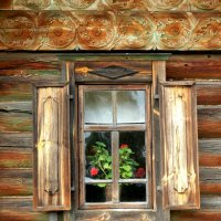 Окно :: Паровозик из Ромашково Ж
