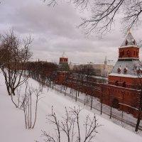 Вид на Москву из Кремля ... :: alexx Baxpy