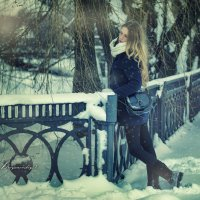 И тихо падал снег))) :: Вячеслав