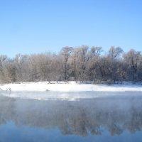 Зима на реке :: Андрей Снегерёв