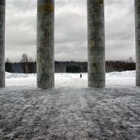 Вид с крыльца музея ВИ Ленина :: Alex Sash