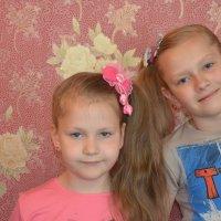 Ангелина с Кариной :: Анастасия Лещук