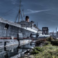 Queen Mary and The Russian Submarine Scorpion :: Ro Man