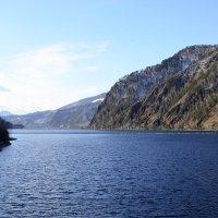 С видом на Енисей и горы :: galina tihonova