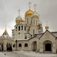 Собор Рождества Пресвятой Богородицы Зачатьевского монастыря. :: Александр Качалин