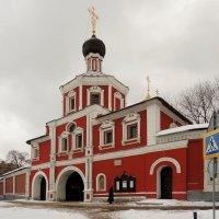 Церковь Спаса Нерукотворного Образа Зачатьевского монастыря. :: Александр Качалин