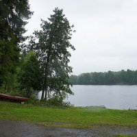 На берегу живописного озера Юоярви, в местечке Хейнявеси :: Елена Павлова (Смолова)