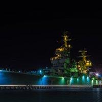 Крейсер в ночи :: Андрей Липов