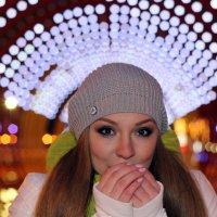 Морозный вечер в парке Горького :: Marina Koroleva