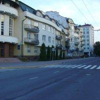 Улица  Андрея  Мельника  в  Ивано - Франковске :: Андрей  Васильевич Коляскин