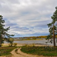осень на Волге :: Galina