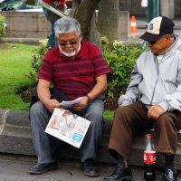 Эквадорские пенсионеры :: Igor Khmelev