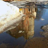 Кто то в лужах видит грязь, а кто то отражение неба..... :: Павлова Татьяна Павлова
