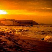Солнечный закат на Балтике :: Алла ************