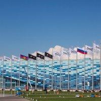 Айсберг (ледовый дворец спорта).Сочи. :: Павел Гриценко