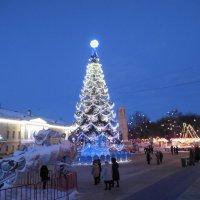 Рождественский вечер. :: Мила