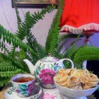 Чаек с блинами :: Агриппина