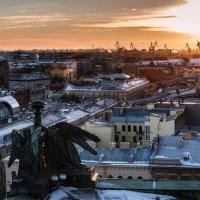 Закат над портом :: Елизавета Вавилова