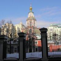 Храм Иоанна Воина на Якиманке. :: Елена
