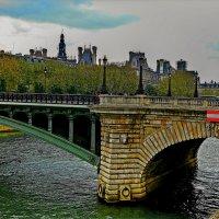 Сена, мост. Париж... :: Александр Корчемный