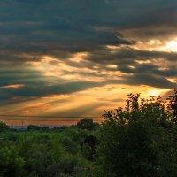 Закатного солнца лучи. :: Татьяна Кудрина