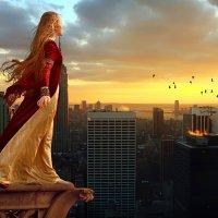 Девушка на балконе :: Алексей Яшин