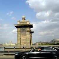 На Лужнецком мосту. :: Елена
