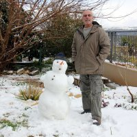 снег в Хосене :: vasya-starik Старик