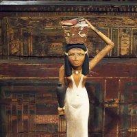 Когда Ра покинул людей и вознёсся на небо, богиня Маат установила новый миропорядок. :: Галина