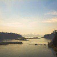 Вид на нижние озеро :: Дмитрий Кошелев