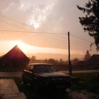 Июльский дождь :: Сергей Макеров