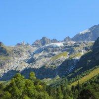 Софийский ледник с водопадами и г. София (3642 м) :: Vladimir 070549