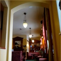 Каминный зал отеля «Валтионхотелли» :: Вера