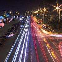 Огни ночного города :: Павел Юшков