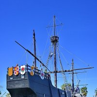 Санта-Мария. Флагманское судно Х. Колумба в первой экспедиции. :: Виталий Половинко