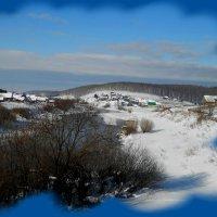 в белый костёр зимы долго смотрели мы... :: Равиль Хакимов