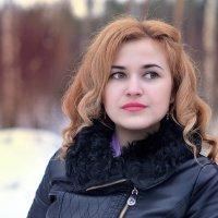 девушка :: Ольга Гребенникова