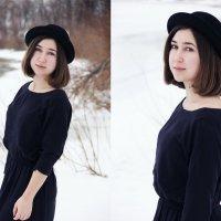 Девушка в шляпе :: Варвара Фроловская