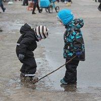 Северодвинск. Масленица. Кому грязь, кому всласть :: Владимир Шибинский