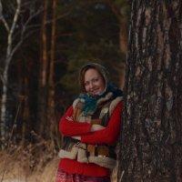 Фотосессия на природе в русском стиле :: Юлия Маслова