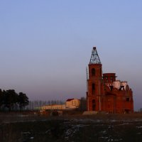 Строится церковь :: Ольга Рав