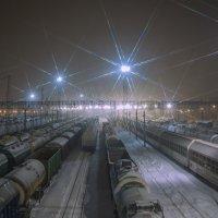 Огни станций... :: Сергей Сердечный