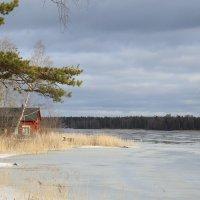 озеро Strömaren в конце февраля, Швеция :: Василий С