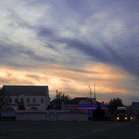 Февральское небо на закате дня... :: Ксения Довгопол