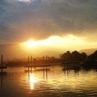 Причал на озере Кинерет :: Любовь Белянкина