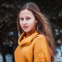 Голубоглазая красотка :: Dinara Nebaraeva